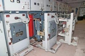 Выкатная тележка масляного выключателя КРУ-10 кВ ЦРП-407