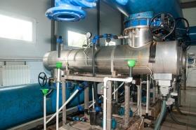 Установка ультрафиолетового обеззараживания питьевой воды.
